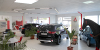 Mitsubishi Verkaufsraum
