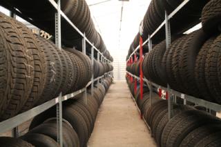 Das Reifenlager